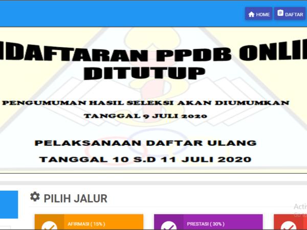 Pendaftaran PPDB SMPN 3 Garut Telah di Tutup
